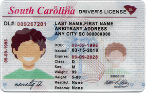 Old South Carolina ID (Dob before May.20,1997)-Buy-ID.com