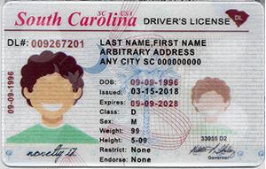 South Carolina ID (Dob before May.20,1997)-Buy-ID.com