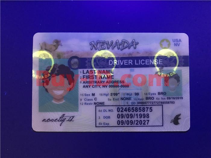 Nevada ID UV rendering