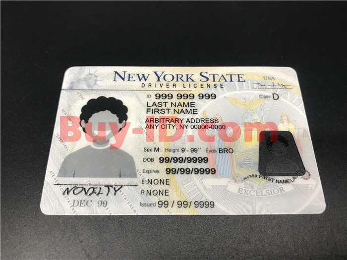 New York ID Front