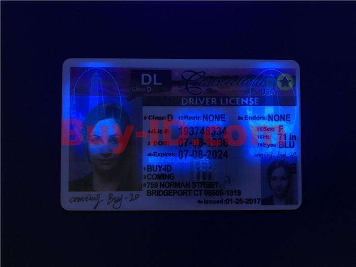 Connecticut ID UV rendering