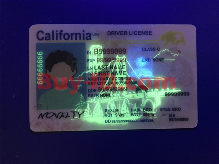 New California ID UV