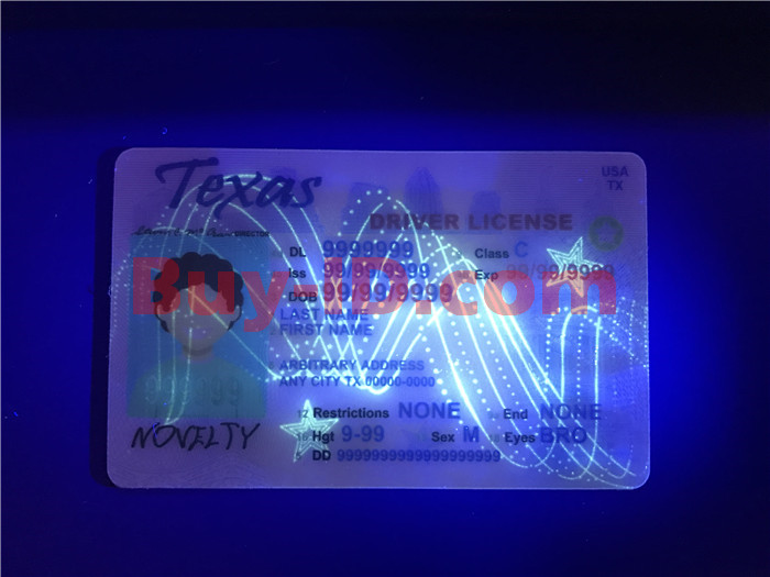 Texas ID UV rendering