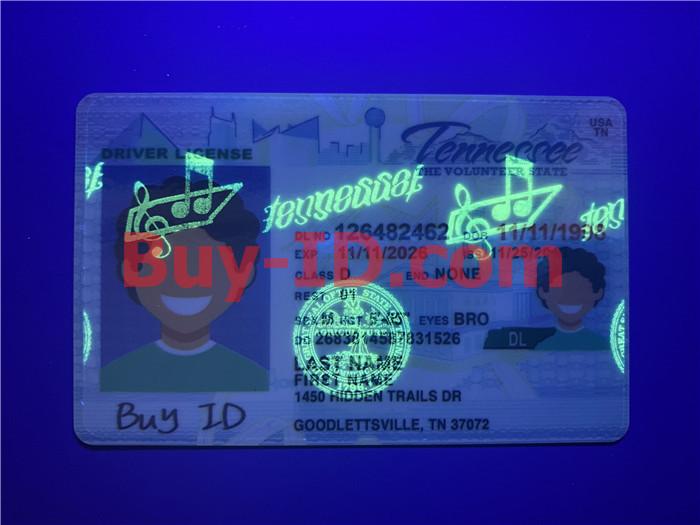 Tennessee ID UV