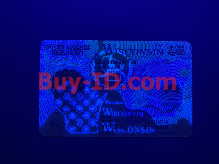 Wisconsin ID UV