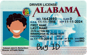 Alabama ID-Buy-ID.com