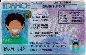 Idaho ID-Buy-ID.com