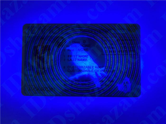 Premium Scannable Idaho State Fake ID Card UV Anti-Counterfeiting Layer