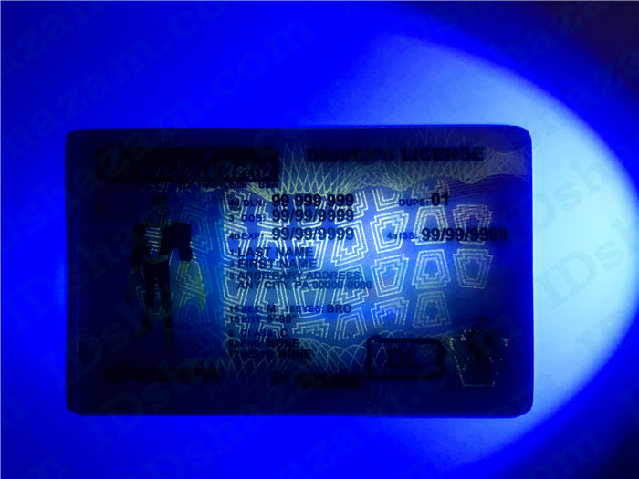 Premium Scannable Pennsylvania State Fake ID Card UV Anti-Counterfeiting Layer