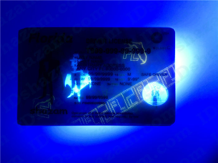 Premium Scannable Florida State Fake ID Card UV Anti-Counterfeiting Layer