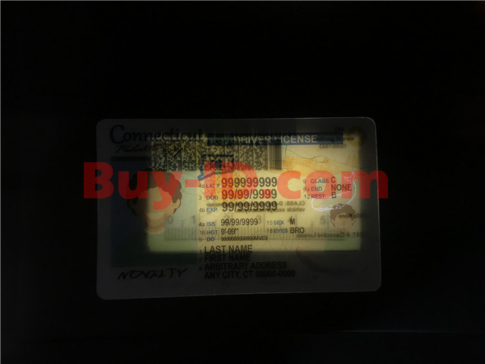 Premium Scannable New Connecticut State Fake ID Card Laser Micro-Perforation